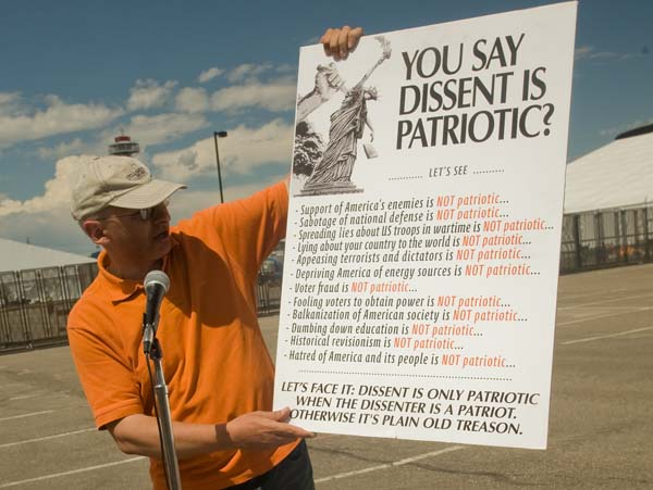 Free Speech Dissent Patriotic