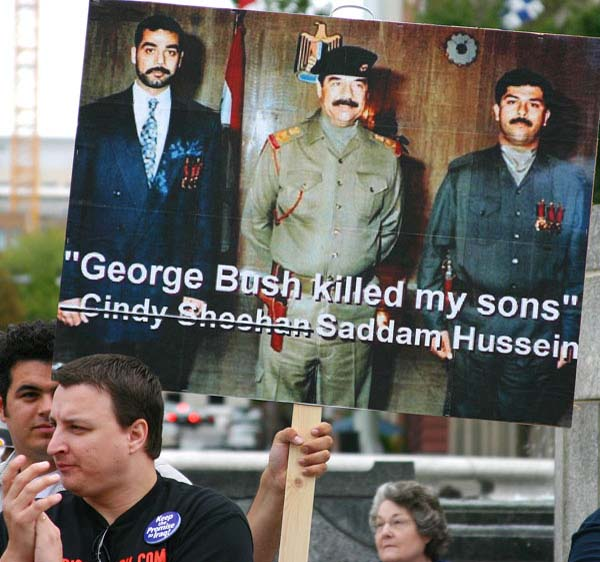 George Bush killed my sons