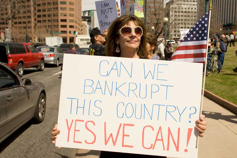 Can We Bankrupt this Country? YES WE CAN!