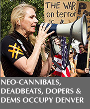 Neo-cannibals, deadbeats, dopers at Occupy